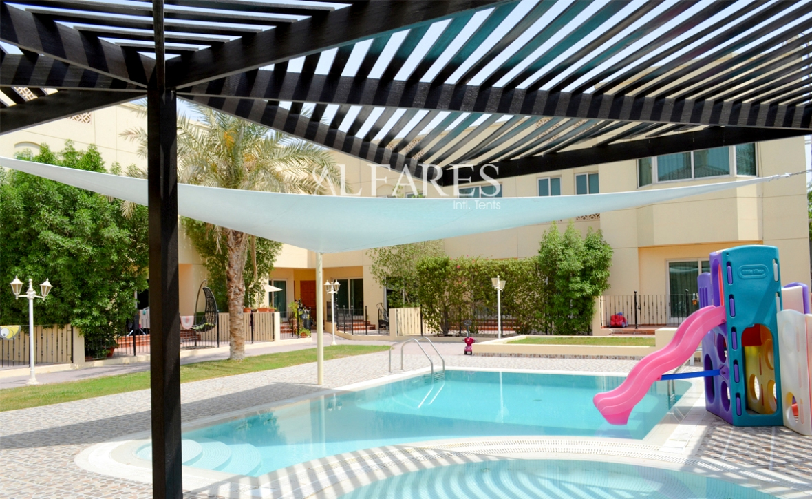 Swimming Pool Tents and Shades Dubai